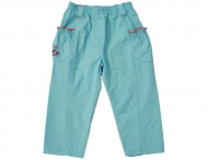 KENZO KIDS Girls Summer Trousers Aqua