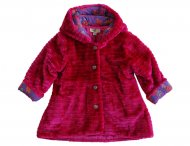 KENZO KIDS fluffy coat for little girls