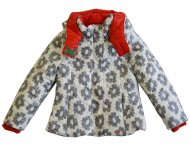 KENZO KIDS white / red jacket for girls
