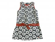 KENZO KIDS white / red dress for girls