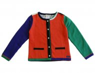 KENZO KIDS cardigan Tomate for girls