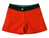 KENZO KIDS Girls Wool Shorts Tomate