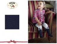 BONNIE DOON Baby Dots & Roses Strumpfhose