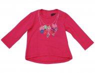 CATIMINI Langarmshirt für Mädchen Fuchsia
