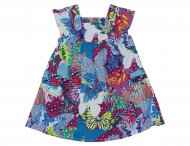 KENZO KIDS Girls Multi Colours Summer Dress Imprime