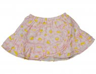 KENZO KIDS Girls Summer Cotton Skirt Dragee