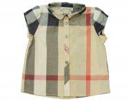 BURBERRY Mädchen Bluse mit Nova-Check Muster
