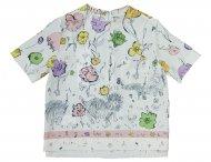 MARNI Chiffon Sommer Bluse für Mädchen