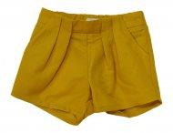 CHLOE Leinen Shorts Safran