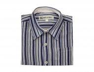 BABY GRAZIELLA gestreiftes Leinenhemd für Jungen