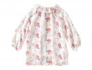 IL GUFO Bluse mit Blumenmuster Creme