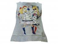 MONNALISA Jersey Tunika mit Print Grau