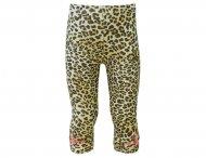 MONNALISA Sommer Leggings mit Leopardenmuster