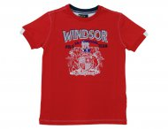 LA MARTINA Kids Sommer T-Shirt Rot