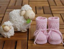 MINI CASHMINI Kaschmir Baby Schuhe Babysocken