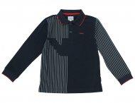 ARMANI JUNIOR Jungen Baumwolle Poloshirt in Blau
