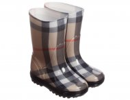 BURBERRY Unisex Classic Check Wellies