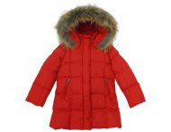 EDDIE PEN PARADISE girls red down coat