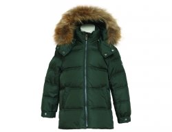 EDDIE PEN Boys Green Down Jacket SKYNARD