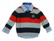 ARMANI BABY Wolle Pullover mit V-Ausschnitt