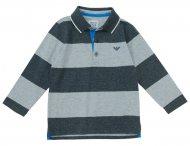 ARMANI JUNIOR Jungen Poloshirt in Grau