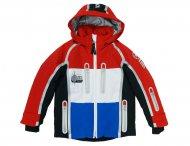 BOGNER KIDS Funktions Ski Jacke ELGO rot-weiß-blau
