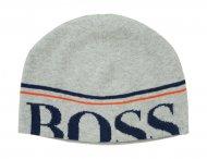 HUGO BOSS Kids Mütze mit Logo in Grau