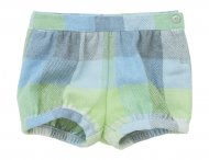 IL GUFO Baby Girls Blue & Green Shorts
