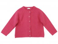 IL GUFO Girls Pink Wool Cardigan