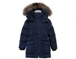 IL GUFO Boys Navy Blue Winter Down Jacket