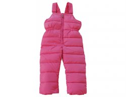 IL GUFO Girls Pink Down Snow Pants