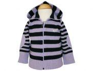 ARMANI BABY Strickjacke mit Kapuze für Mädchen