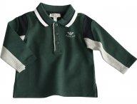 ARMANI BABY grünes Polohemd für Jungen
