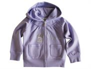 ARMANI JUNIOR Sweatjacke in flieder