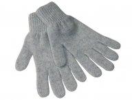 REGINA Grey Cashmere Gloves