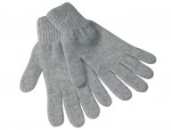 REGINA Kaschmir Handschuhe in Grau