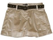 ELSY Girl Samt Short beige