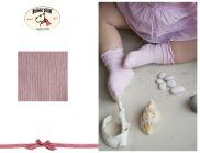 BONNIE DOON Baby Frou Frou Socken rosa